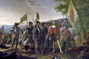 Spaniolii descoperă Lumea nouă